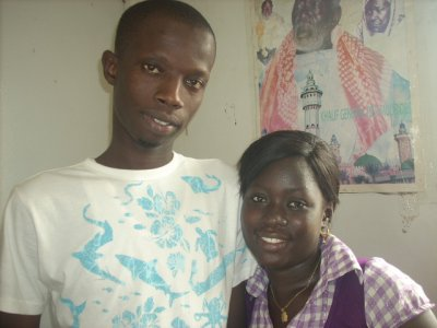 mon couz et my sister