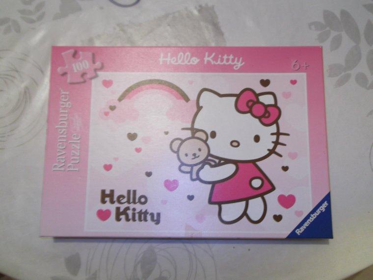 Puzzle hello kitty neuf