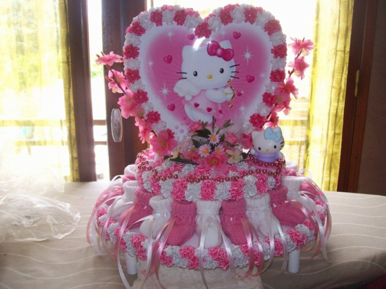 decoration bapteme hello kitty