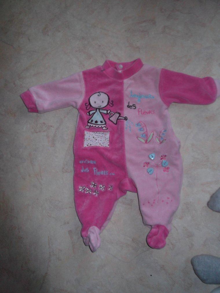 vetement bébé 1 mois