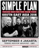 Confirmation du concert à Jakarta par Simple Plan