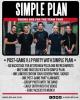 SIMPLE PLAN AJOUTE DES 10 PLACES DE PLUS POUR LES VIP PIZZA PARTIES AUX USA