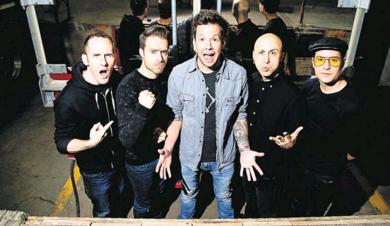 Simple Plan dans le Top 50 de Rock Sound