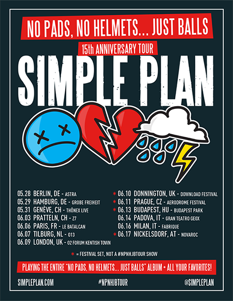 Simple Plan ajoute une date de plus à New-York