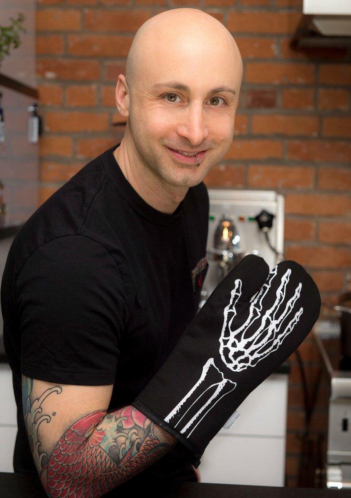 Jeff parle de son expérience culinaire au Journal de Montréal