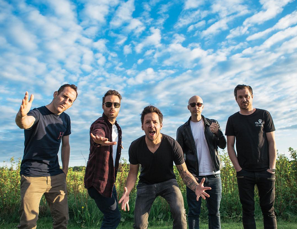 Photo: Simple Plan en Scandinavie