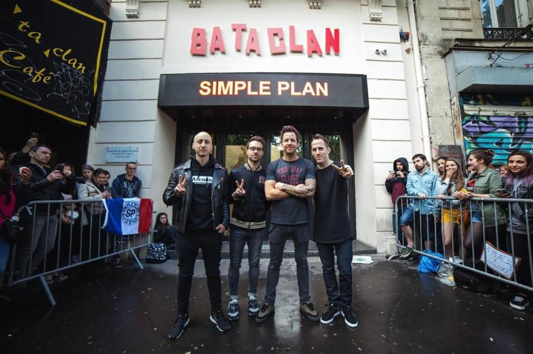 Simple Plan au Bataclan