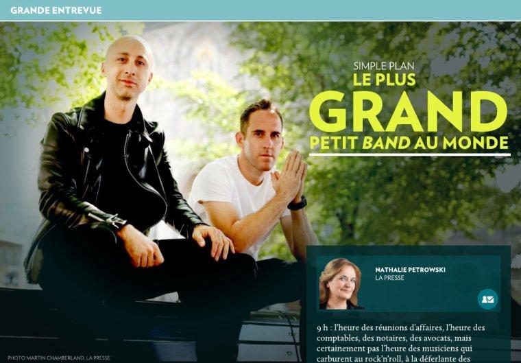 Documentaire: Simple Plan dans Vie de Tournée