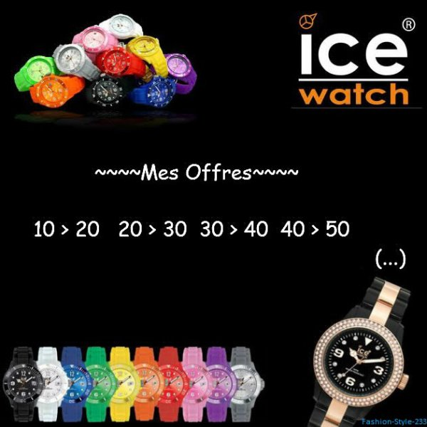 Mes Offres - Ice Watch