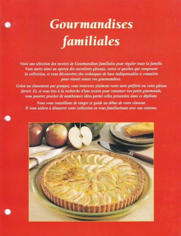 gourmandises familiales