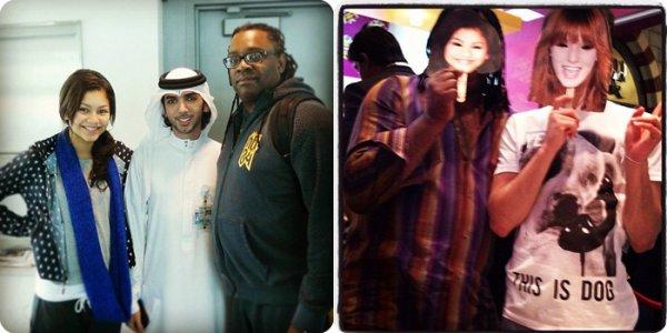 ♛ Scans de BOP&TigerBeats, Les BFF' in Dubaï,TweetTime.