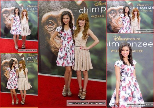♛ Bella & Zendaya  la Première de Chimpanzee., Fête de Pâques à la Maison Blanche, Tweetime, Videos...
