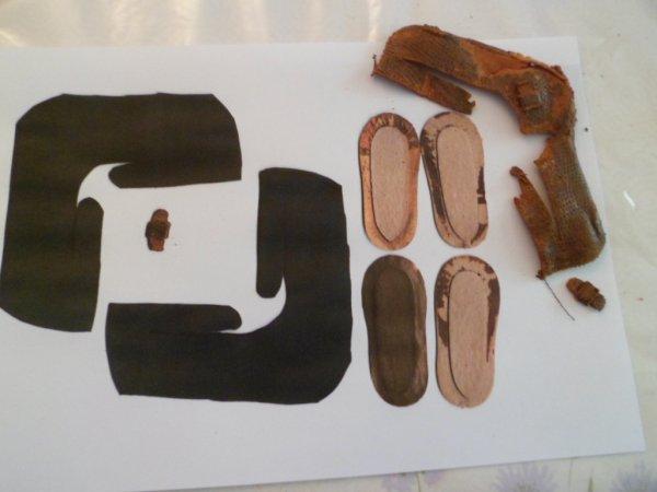 CHAUSSURES pour PATSY ANN  ARRANBEE  7 cm