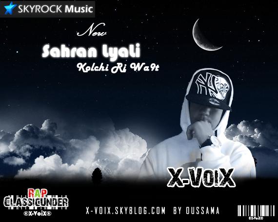 Sahran Lyali- X-Voix