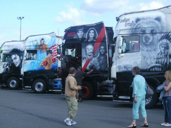 la fête des camions......