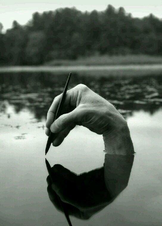 Bien écrire... et un soulagement qui s'y mêle