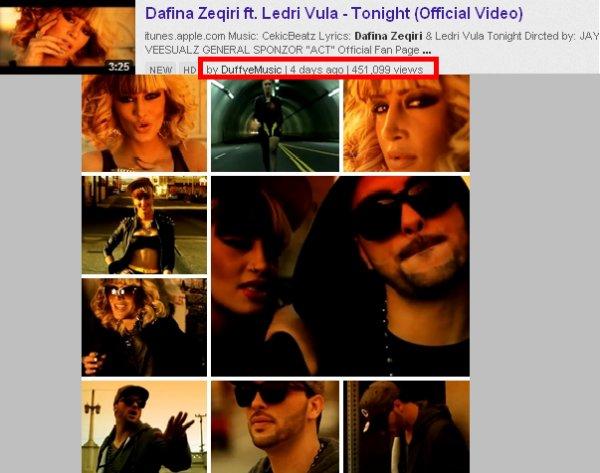 Dafina Zeqiri - TONIGHT (INFO)