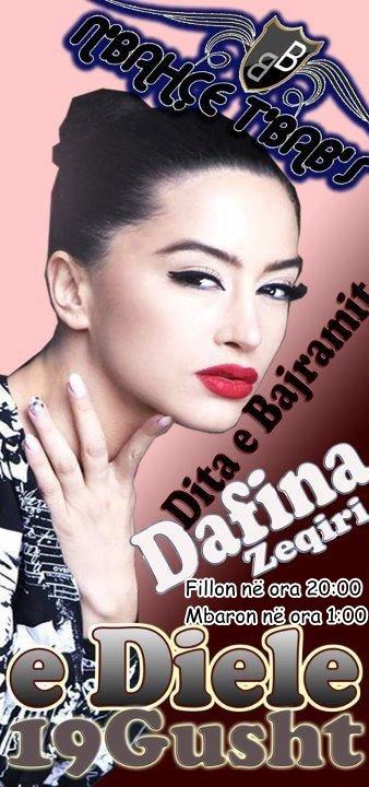 Dafina Zeqiri - Koncert për Ditën e Bajramit në Podujevë ( 19 GUSHT ) !