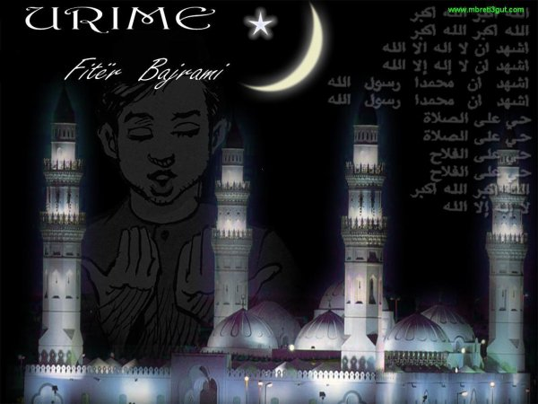Urime festa e Fitër Bajramit !