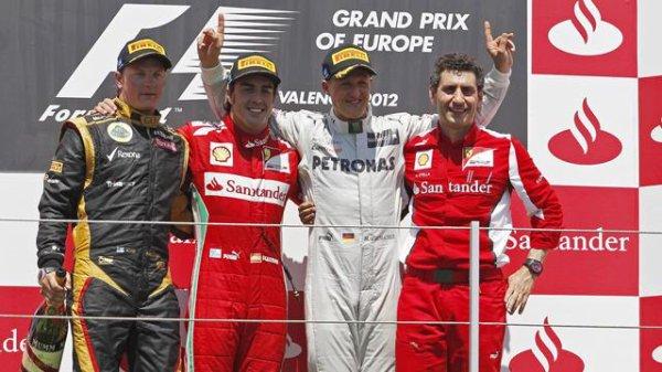 Grand Prix d'Europe, Valence du 22 au 24 Juin 2012