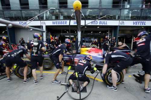 Le classement constructeurs, saison 2012