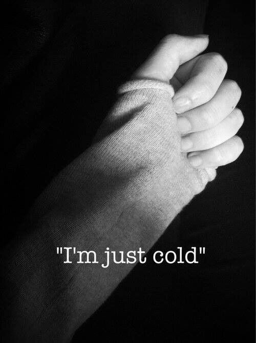 •J'ai juste froid ...
