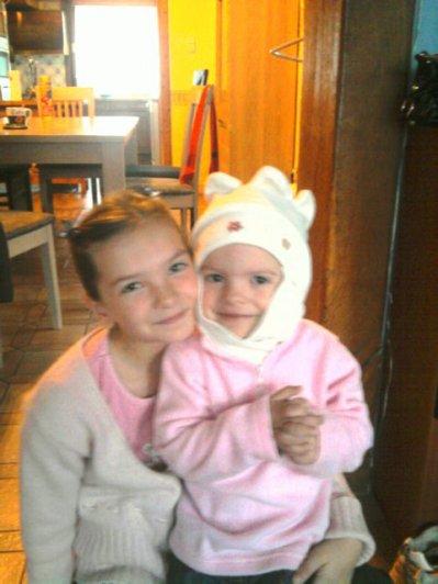 Mes petites nièces (elles sont tous pour moi)