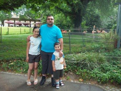 moi,mon père et mon petit frêre