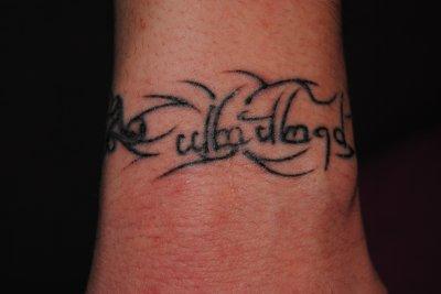nouveau tatouage !!
