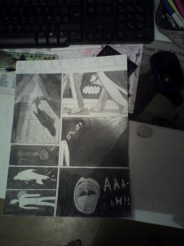 Ma BD (travail en Art plastique)