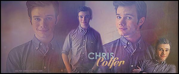 * ● ● Bienvenue sur Colfer-Chris, votre source d'actualité sur le ravissant Chris Colfer. Suivez toute l'actualité du beau et talentueux Chris - grâce aux différents articles tels que des candids, événements, photoshoots et autres...   *