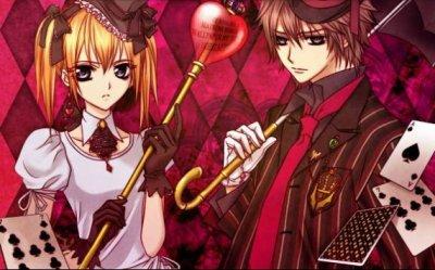Voila quelque image de vampire knight (couple )