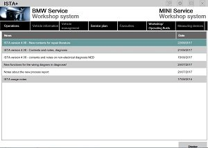 12/2017 Update BMW ISTA-D ISTA-P Program