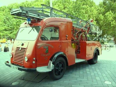 Leiterwagen Pompiers Colmar