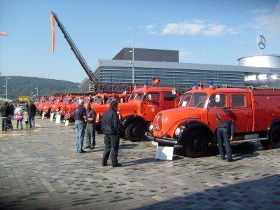 Mercedes Benz Museum Stuttgart Tag der Feuerwehr Teil 2