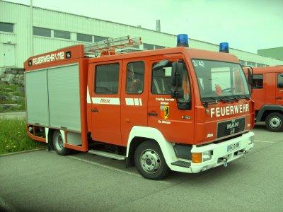 MAN LF 8 FF Dietlingen Abt. Böhringen Lkrs Rottweil