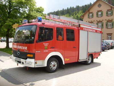 Mercedes LF 8 FF Altensteig Abt. Walddorf Lkrs Calw
