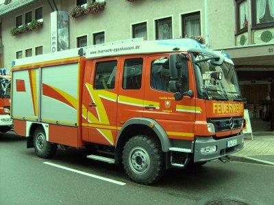 FF Egenhausen Mercedes HLF