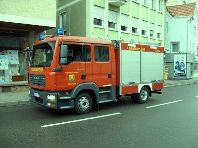 FF Simmersfeld Abteilung Fünfbronn MAN KLF
