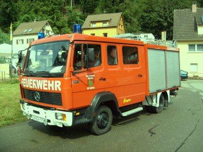 FF Altensteig Abteilung Spielberg Mercedes LF 8