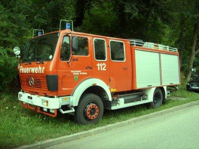 FF Altensteig Abteilung Überberg Mercedes TLF 16