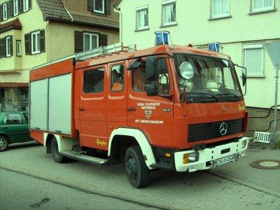 FF Haiterbach Abteilung Oberschwandorf Mercedes LF8
