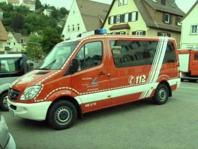 FF Haiterbach Abteilung Oberschwandorf Mercedes MTW