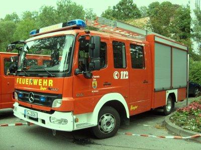 FF Calw Abteilung Holzbronn Mercedes LF 10