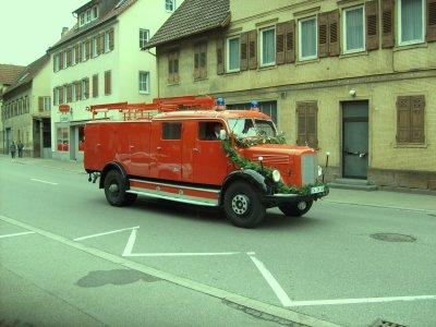 FF Nagold Mercedes LF 16 Oldtimer