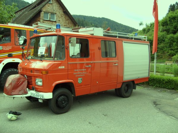 FF Bad Rippoldsau Landkreis Freudenstadt Mercedes LF 8