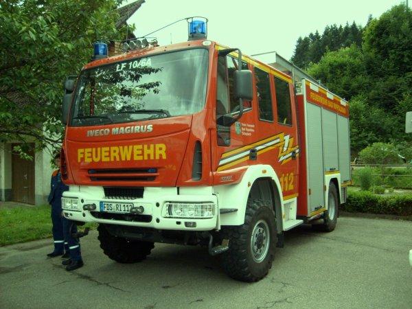FF Bad Rippoldsau Landkreis Freudenstadt IVECO LF 10