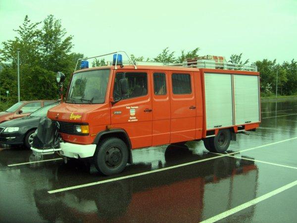 FF Dornhan- Leinstetten Landkreis Rottweil Mercedes LF 8