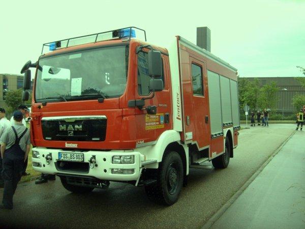FF Baierbronn Landkreis Freudenstadt MAN HLF