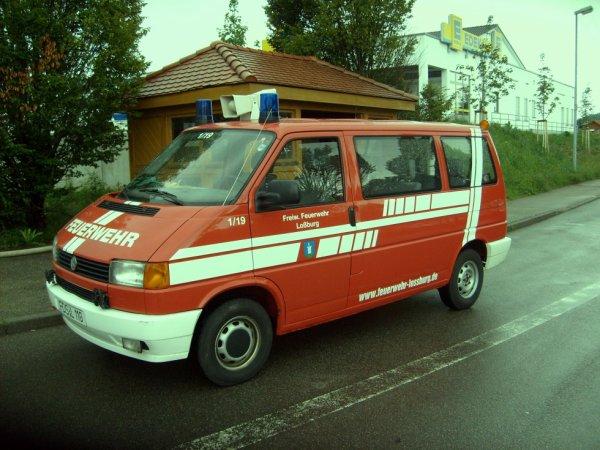 FF Loßburg Landkreis Freudenstadt Volkswagen T4  MTW